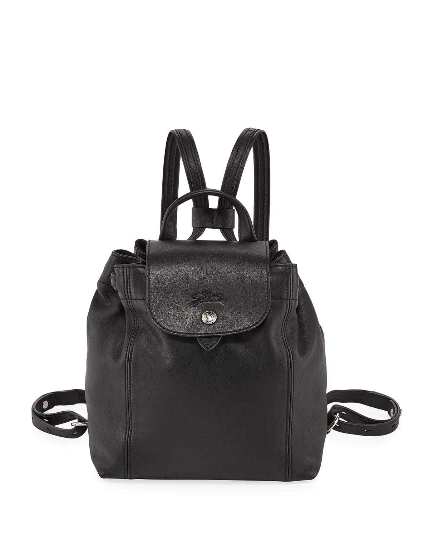 Longchamp Le Pliage Cuir Backpack  38d1be2930a58