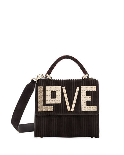Alex Mini Golden Love Satchel Bag