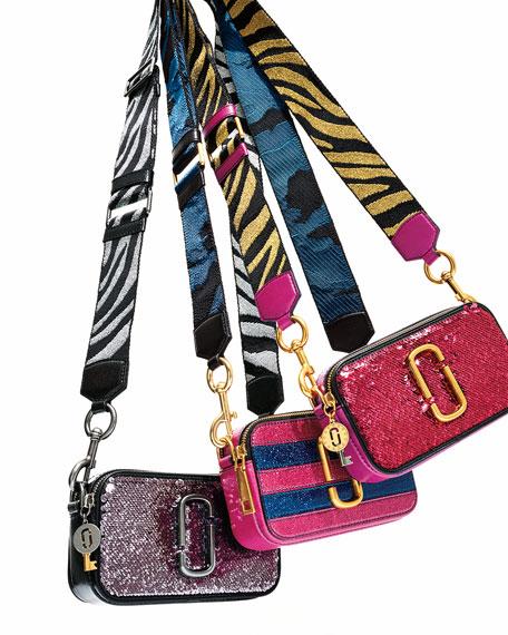Sequin Snapshot Crossbody Bag