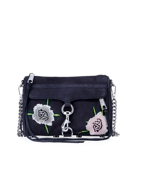 MAC Mini Embroidered Crossbody Bag