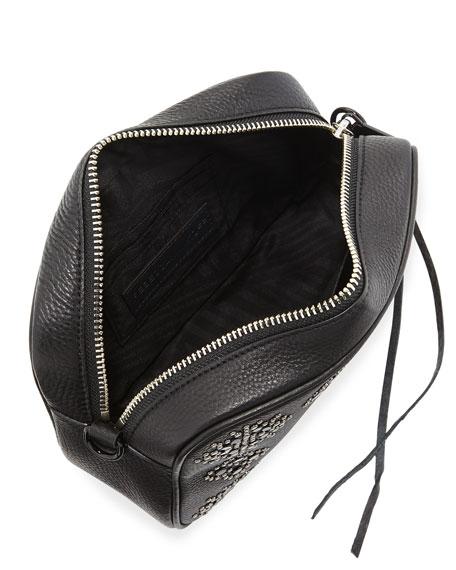 Stargazing Medium Studded Leather Camera Bag