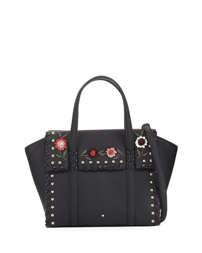 madison daniels drive abigail small embellished satchel bag
