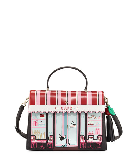 ma cherie cafe satchel bag