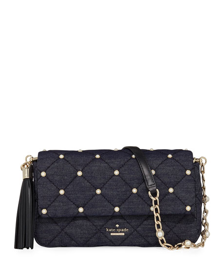 kate spade new york emerson place quilted denim