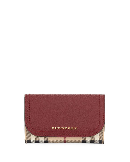 Burberry Marlow Haymarket Soft Grain Wallet