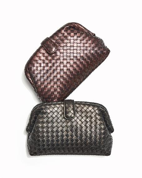 The Lauren 1980 Napa Leather Clutch Bag