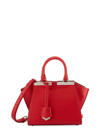 Fendi 3Jours Mini Leather Tote Bag
