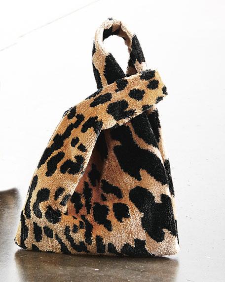 Hayward Mini Venetian Leopard Brocade Shopper Top Handle Bag