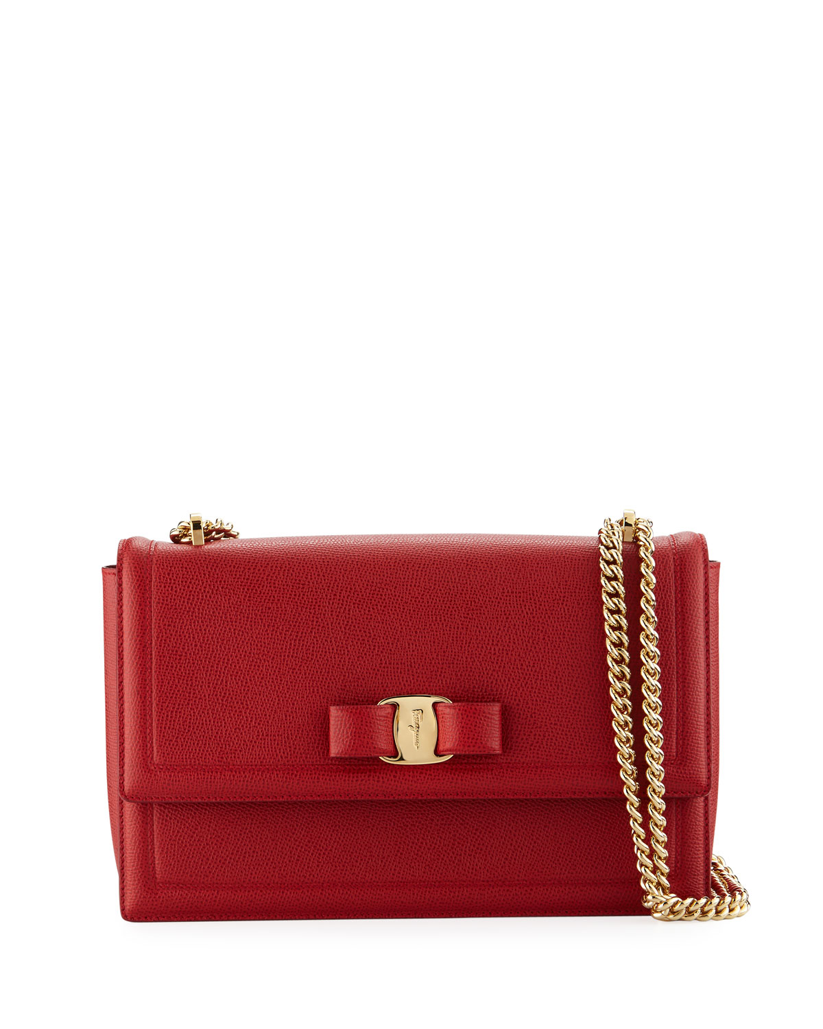 a84102dfae Salvatore Ferragamo Medium Ginny Shoulder Bag