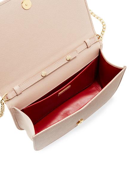 Small Curved Flap Mini Crossbody Bag