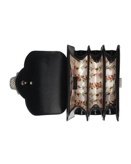 Gatto Small Bamboo Top-Handle Bag