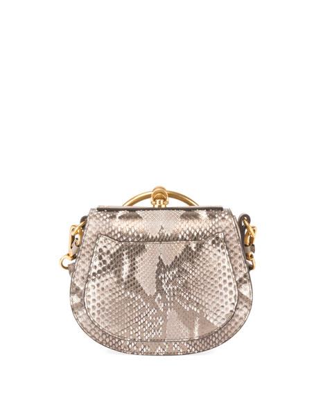 Nile Small Python Bracelet Crossbody Bag