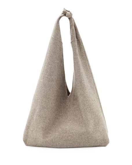 Bindle Cashmere Knotted Handbag