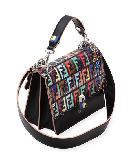 Kan I Fun Fair leather shoulder bag Fendi UCeeLpLJA