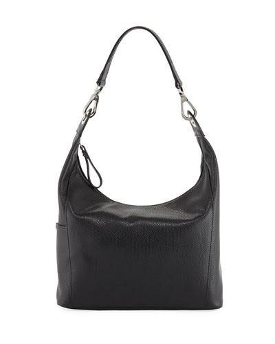 Le Foulonne Small Hobo Bag, Blue
