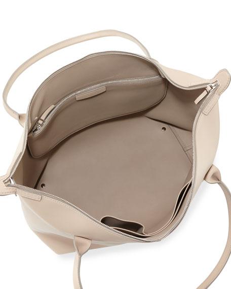 Lux Leather Satchel Bag