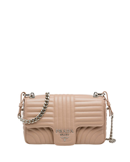 Inpunture Quilted Small Shoulder Bag