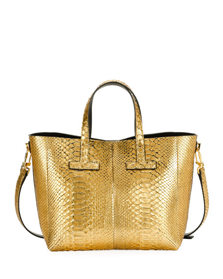 T Tote Cosmo Python Crossbody Mini Bag