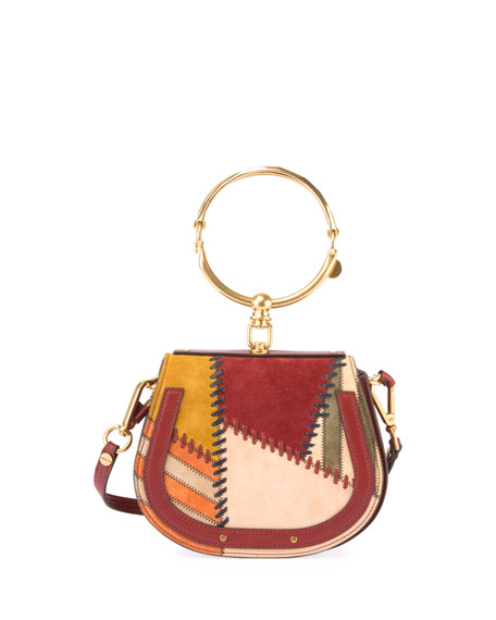 Chloe Nile Small Whipstitch Bracelet Bag