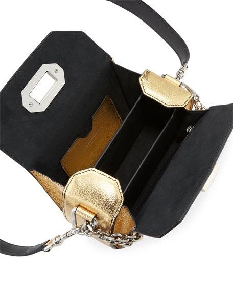 Box Bag 16 Metallic Leather Shoulder Bag