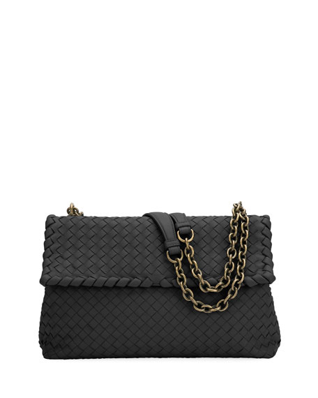 Olimpia Medium Napa Chain Shoulder Bag