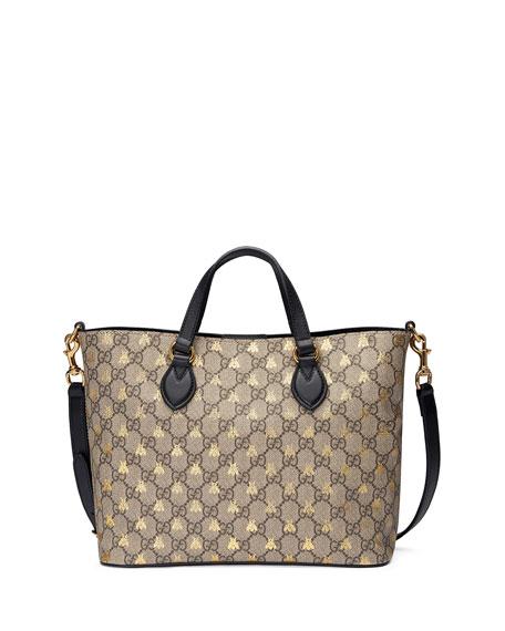 Gucci Bestiary GG Supreme Tote Bag 85de2f6239