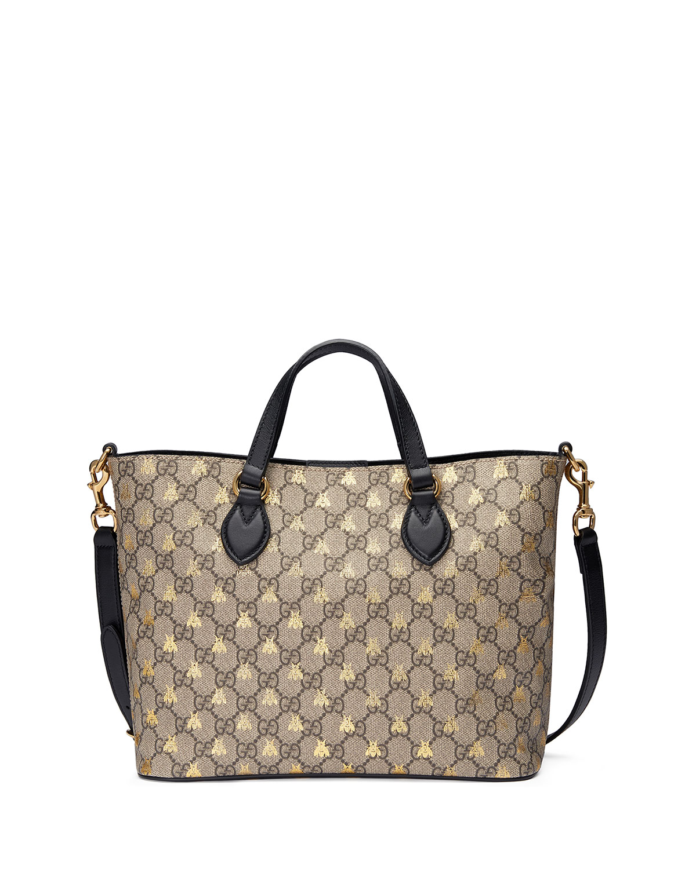 1df1ca1b1530 Gucci Bestiary GG Supreme Tote Bag