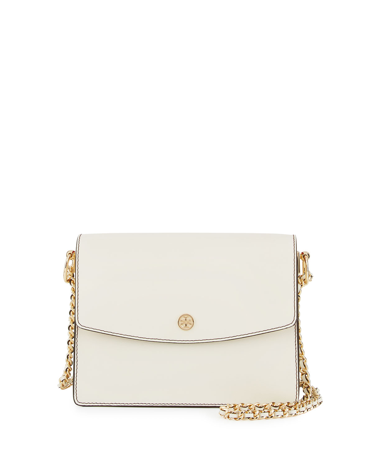 c24b0aa29 Tory Burch Parker Leather Convertible Shoulder Bag | Neiman Marcus