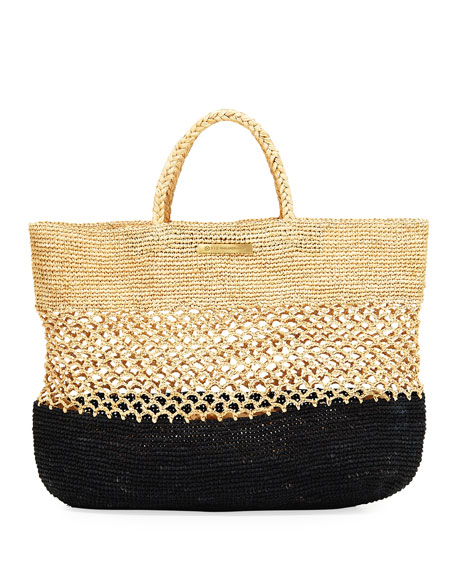 Ibiza Straw Beach Bag