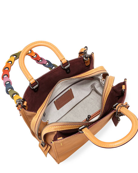 Rogue Glove-Tanned Pebbled Tote Bag