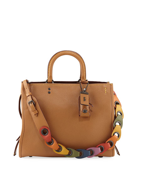 Coach 1941 Rogue Glove-Tanned Pebbled Tote Bag