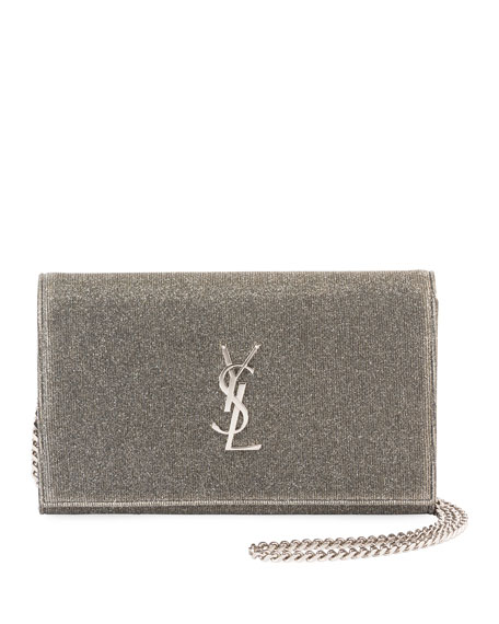 Kate Monogram YSL Sparkle Wallet on Chain