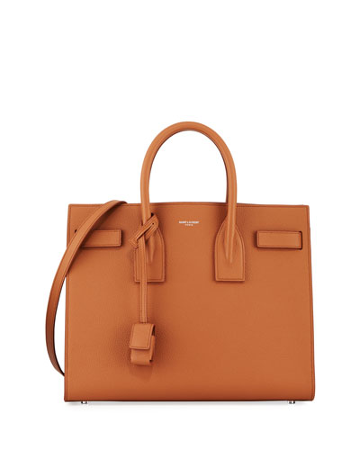 Sac de Jour Small Carryall Bag, Dark Beige
