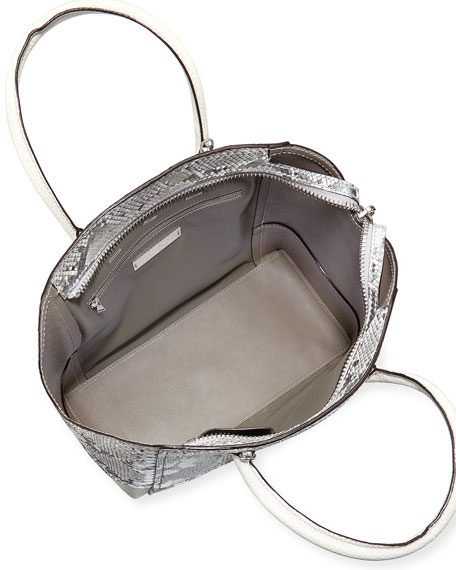 Brera 34 Sport Python Satchel Bag