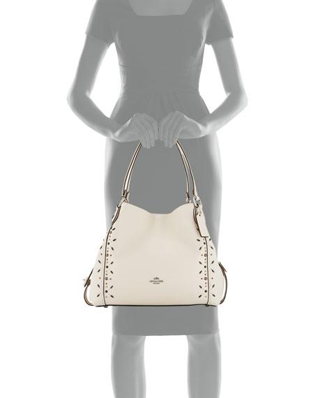 Edie 31 Prairie Rivet-Detail Shoulder Bag