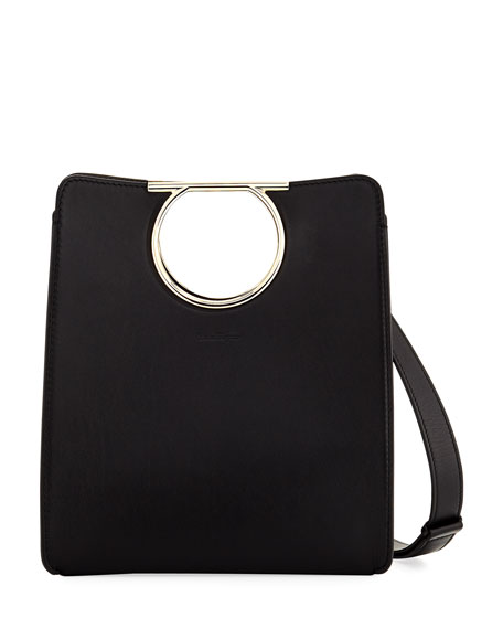 Medium Gancio Cutout Tote Bag