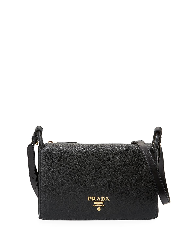 762548c4ed94 Prada Daino Crossbody Bag | Neiman Marcus