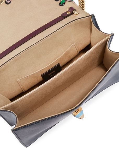 Kan I Medium Whipstitch Calf Shoulder Bag