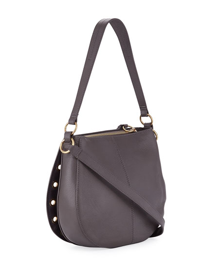 Kriss Small Grommet Hobo Bag