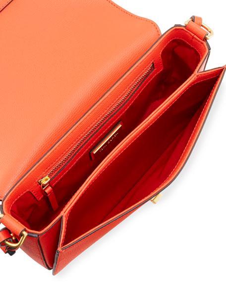Kira Grain Leather Shoulder Bag