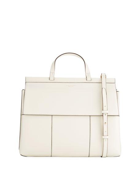 Oversized Block-T Satchel Bag
