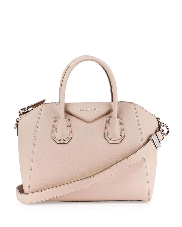 4353bfbd6f Givenchy Antigona Small Sugar Goatskin Satchel Bag