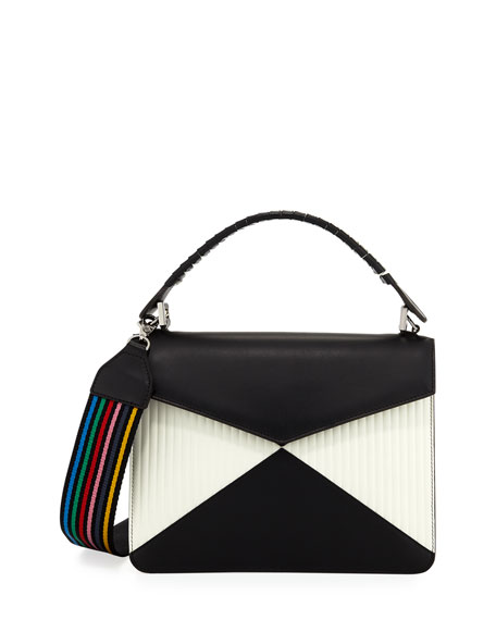 Pixie Bicolor Quilted Crossbody Bag