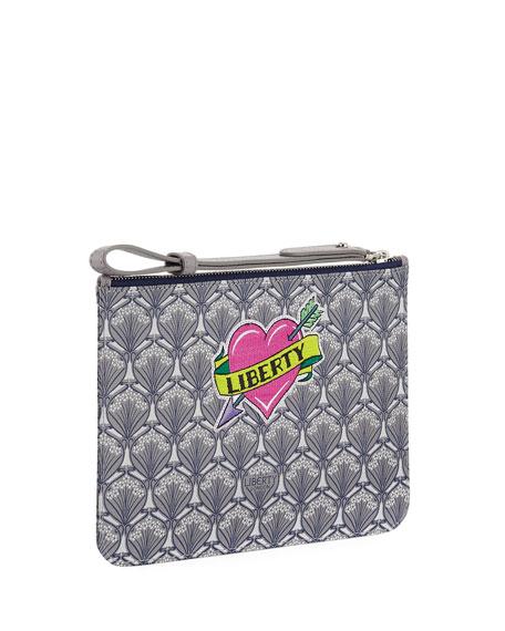 Liberty London Multi-Patch Wristlet Bag