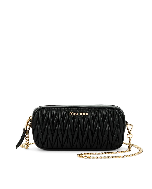 Miu Miu Matelasse Leather Belt Bag  0207433c1e6cd