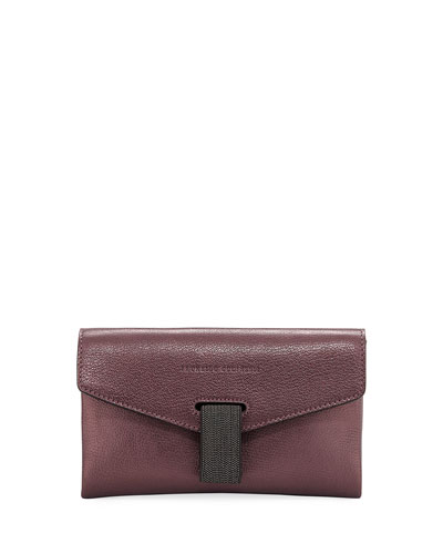 Mini Leather City Crossbody Bag