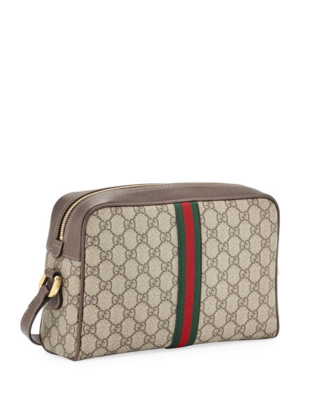 Gucci Ophidia Medium GG Supreme Camera Crossbody Bag