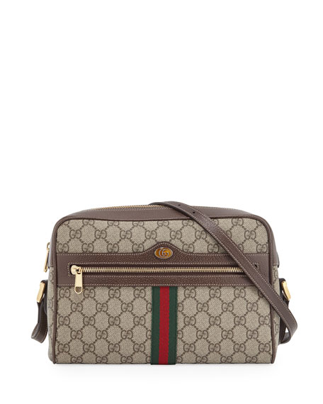 3b7ac5bc2f24 Gucci Ophidia Medium GG Supreme Camera Crossbody Bag | Neiman Marcus