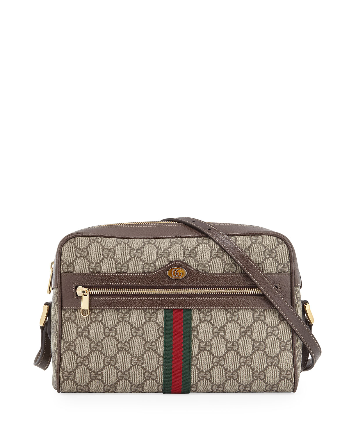 45c539c521f Gucci Ophidia Medium GG Supreme Camera Crossbody Bag | Neiman Marcus