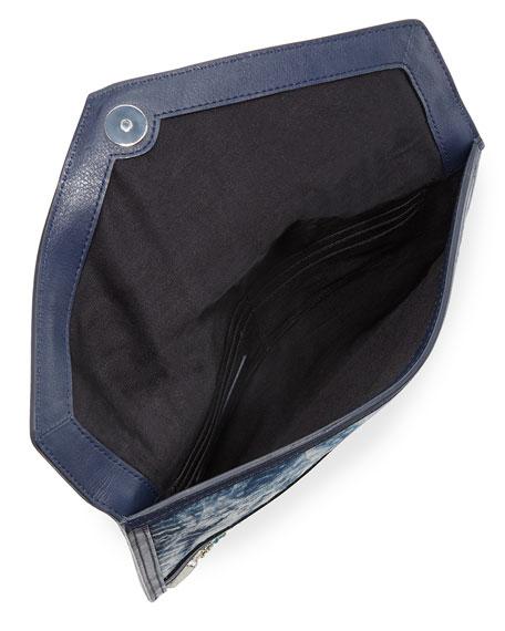 Leo Beaded Clutch Bag